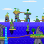 Resting Spires Background (Now Animated)
