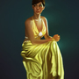 Portrait of a dress by trueWolF