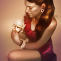 Portrait of Red by trueWolF
