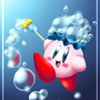 Bwubble Kirby by Electroid-14