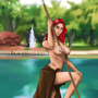 Barbarian Woman by Rennis5