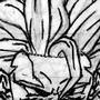 SS3 Goku by Indrano
