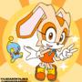 Cream the Rabbit Chibi