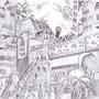 Korean Town by IaMI2002