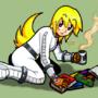 Ups... I dropped my books by Rhay-Tatsuki