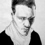 Self portrait, 24 by Hildebrandt