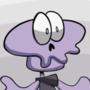 purple skeleton guy
