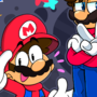 Sonic generations but awesome(ft the Mario's)