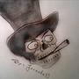 Skull (First Art) :) by Jasenko33