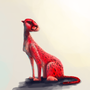 red cheetah by akoRn