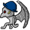 bowler hat gargoyle