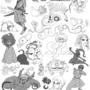 compilation 2 by lenkalamari