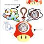 Toad alarm clock design