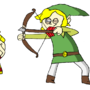 Lucas, Link, and the Apple by HoodedCobraGreen