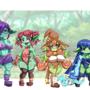 New Oc goblin girl, Delna, Rapy, Michuru & Leoni. Nsfw version on https://www.patreon.com/izfanart
