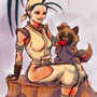 Ibuki and Don Lunch Break by Cairos