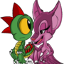 Alric and sheeta by megadrivesonic