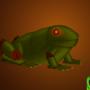 Friday Frog by Luwano