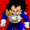 Vegeta after getting beat