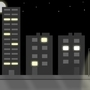 City Road - Nighttime BG by andy-flashie