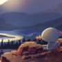 Wooper at Sunset