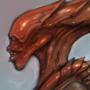 Alien Female III - Color