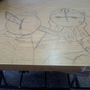 draw on the desk by rota100