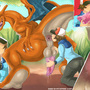 Charizard Worship by TheShadling
