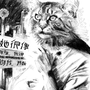 Winter Kitten by someplaceelse