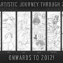 Artistic Journey Through 2011 by Hnilmik