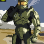 Blast Processing Master Chief by solidpawn