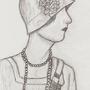 Flapper Girl by HipnikDragomir