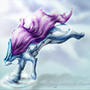 Crystal Suicune by Omegaro