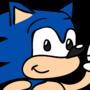 Sonic the head dog