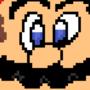 Mario pixel art - freehand