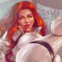 Black Widow being kinky