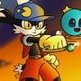 Klonoa and Huepow by Mario644
