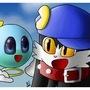 Klonoa and Huepow 2 by Mario644