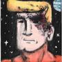 Burnt Face Man (acrylic #4) by DannyP