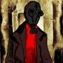 Gas Mask Goon by TheOriginalPandaC