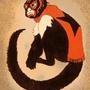 Mono Luchador by Lundsfryd