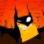 """Bat outta hell"" by AlmightyHans"
