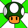 Mario's One Up Mushroom by TalvishTV