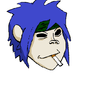 2D From Gorillaz by TalvishTV
