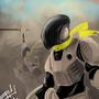Robot Samuari by Tropicana