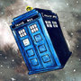 TARDIS in Space by DerFish