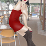 Mistress Gia at the cafe