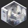 Isometric Quarentine Room Collab - Sam and Max