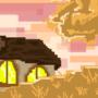 Autumn Pixel Village