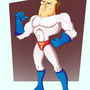 Powdered Toast Man by UltraMoron